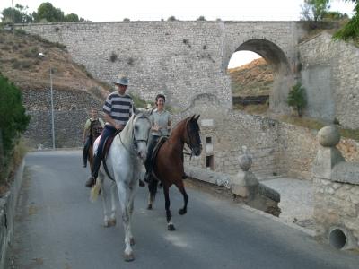 Excursión a caballo en Ocaña nivel fácil 1 hora