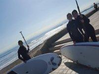 Empezando con el paddle surf