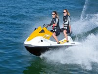 Ruta en moto de agua biplaza en Marbella 15 min