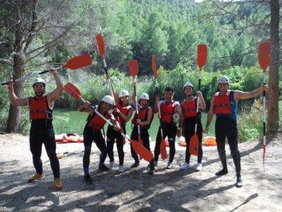 Ruta guiada en canoa en Fuensanta de 2 horas
