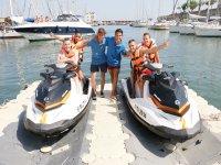 Alquiler moto de agua doble Puerto Olímpico 30 min