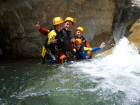 Canyoning as a family