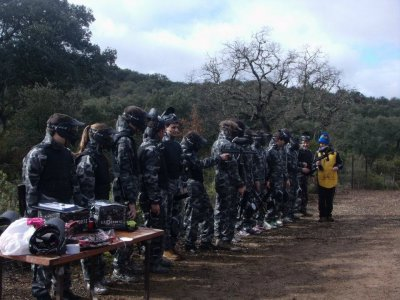 Paintball y rocódromo en Archidona con barbacoa