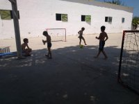 Pachanga in the summer camp
