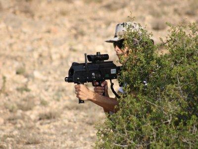 Partida de laser combat outdoor en Almansa 2h