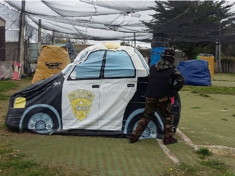 Special paintball games for children