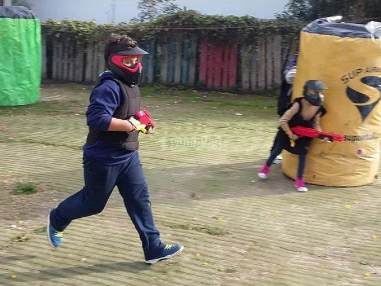 Paintball infantil en Chiclana