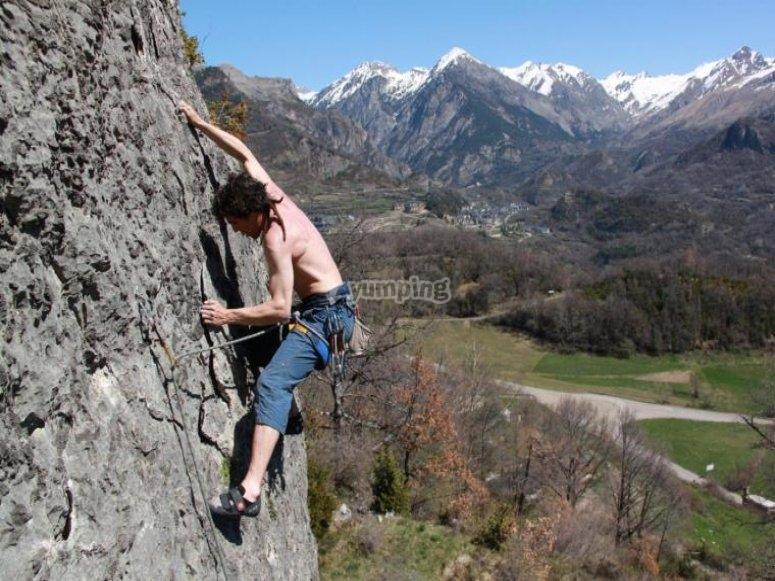 攀登顶级未来登山者