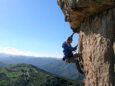 Escalar en la Sierra de Segura media jornada