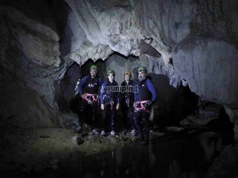 Come and discover the caves