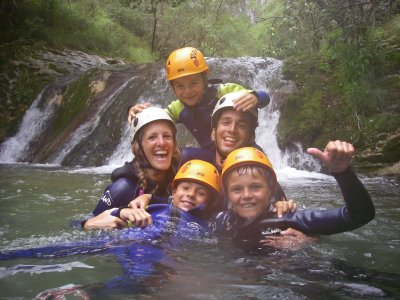 Canoe in the Sella + Caving + Canyoning