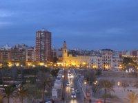 Anochecer en Valencia