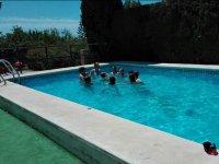 Momentos en la piscina
