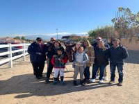 Family day at the equestrian center