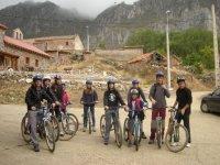 一个非常积极的一天,我们会享受自行车之旅