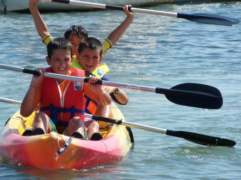 Kayak session