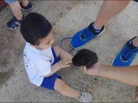 Tocando al conejito