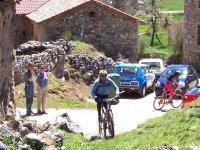 ruta en bici en León