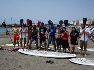 Tenerife Surf Camp Paddle Surf