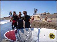 准备骑桨冲浪