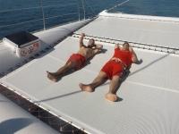 Rilassandosi in mare