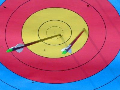 Tiro con l'arco a Turégano 1 ora