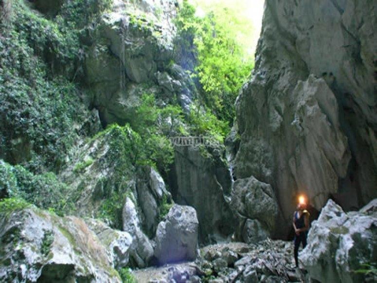 Exterior de la cueva
