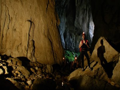 Caving for beginners in Asturias, half day