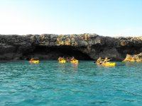 Cova des Pardals in a Kayak