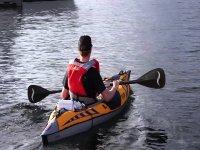 在Moraira租一艘双人皮划艇1小时