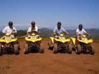 grupo de excursion en quad