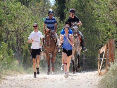 Paseo a caballo en la Sierra de Alicante 30 min