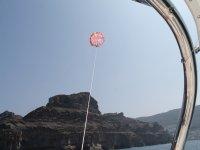 Boat and parasailing