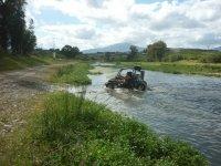 Superando el rio