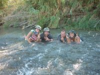 Chapuzon en el rio