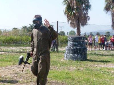 Paintball para niños en Alzira