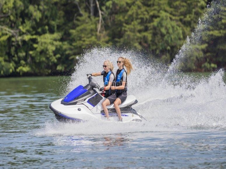 Ruta moto de agua desde San Antonio Ibiza