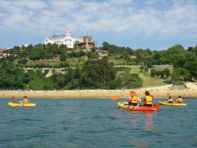 Aprender kayak en la Bahía de Santander 90 min