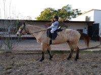 A caballo por las arenas de nuestro campamento hípico