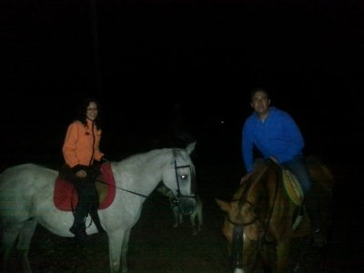 Horseback Route w. Full Moon + Dinner, Colmenar