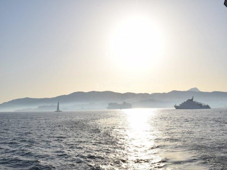 从船上来的地中海