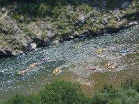 canoe gialle