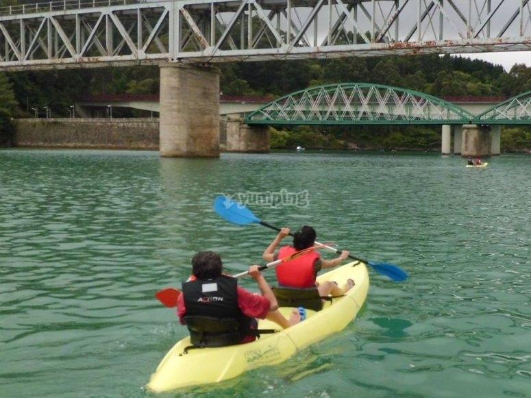 hacia el puente