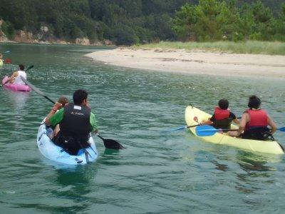 Navegar en canoa a Ribeiras do Sor
