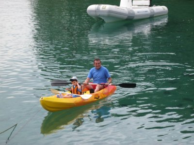 Ruta guiada en canoa O Barqueiro a Playa de Xilloy