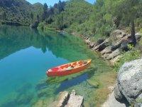kayak en el Tajo