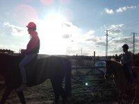 蒙塞尼的骑马课程
