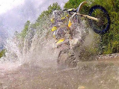 Enduro route in Pizarra, Malaga, 8d and rental