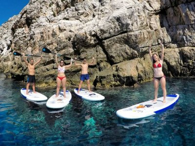 2h SUP + snorkel in Menorca