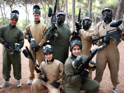 Despedidas Emagic Paintball